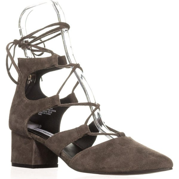 Steve Madden Wishez Dress Pumps, Grey Suede