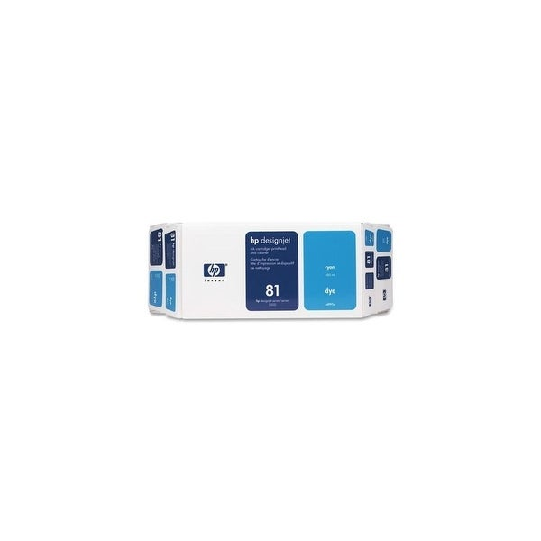 HP 81 Ink Cartridge - Cyan (C4991A) (Single Pack)