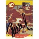 Robert Reichel Calgary Flames 1990 Pro Set Autographed Card This item comes with a certificate of authenticity from A