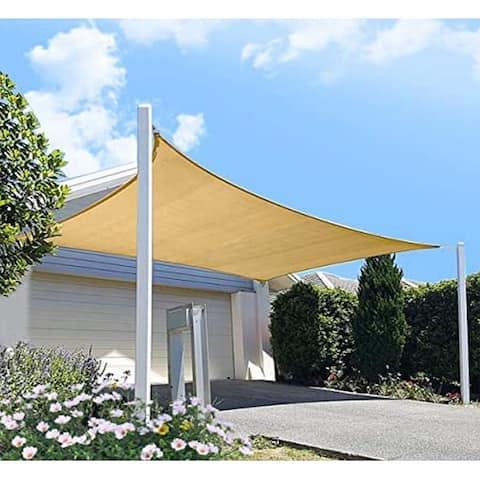 20 Ft x 24 Ft Heavy Duty UV Block Sun Shade for Patio Backyard - 1pc