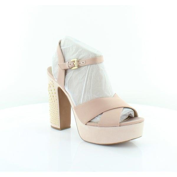 f1e933f339 Shop Michael Kors Sia Platform Women's Sandals Soft Pink - Free ...
