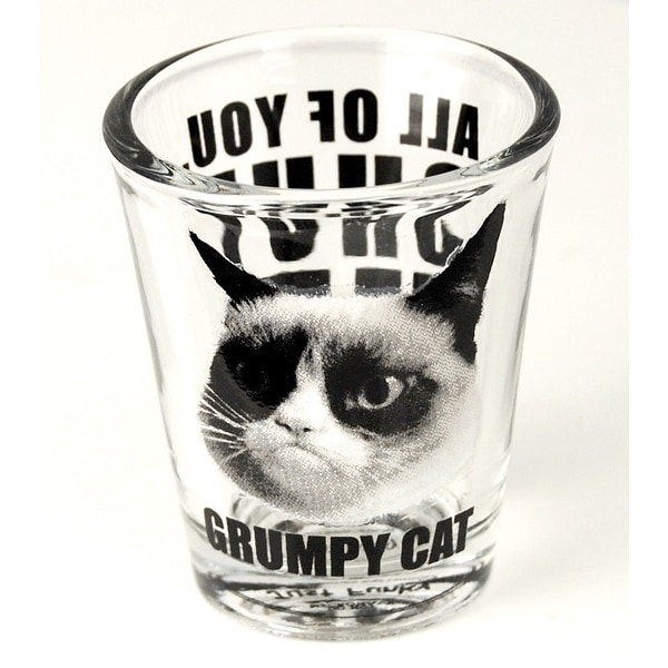 Grumpy Cat Shut Up Shot Glass - Multi