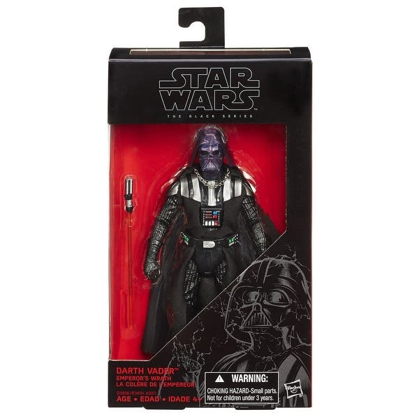 Shop Star Wars 6 Black Series Action Figure Darth Vader Emperor S Wrath Overstock 13724414