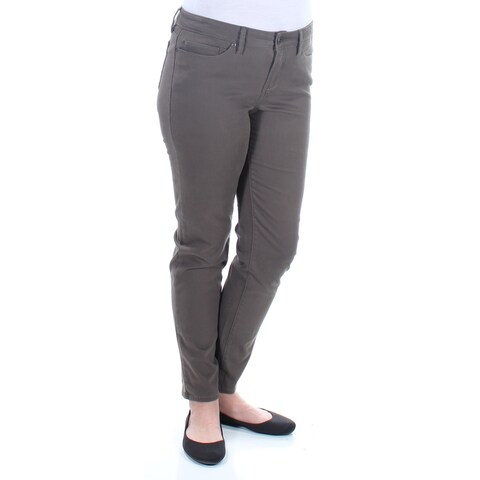 AMERICAN RAG Womens New 1341 Green Super Skinny Casual Jeans 11 Juniors B+B