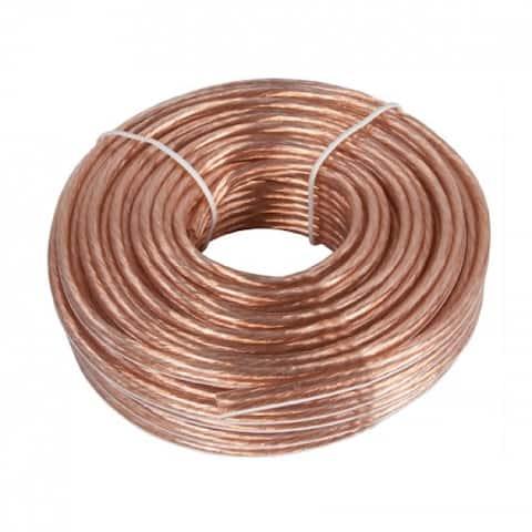 Zenith AS105014C Speaker Wire 14 Gauge 50'
