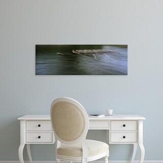Easy Art Prints Panoramic Images's 'Crew racing, Seattle, Washington State, USA' Premium Canvas Art