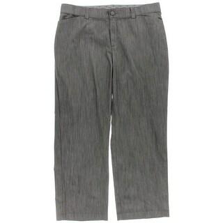 Lee Womens Plus Stretch No-Gap Dress Pants - 20W