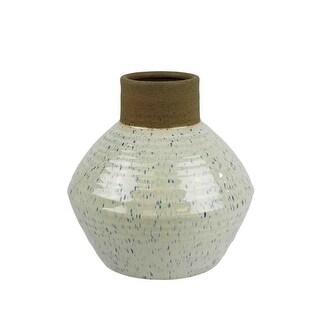 Beautiful Ceramic Vase, White