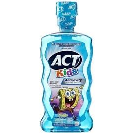 ACT Kids Anticavity Fluoride Rinse Ocean Berry 16.90 oz