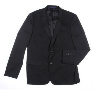 Zara Mens Woven Lined Two-Button Blazer - 40
