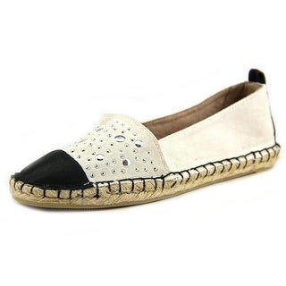 White Mountain Alfresco Women Round Toe Canvas White Espadrille