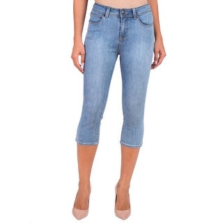 Lola Jeans Lindsey-MLB, High Rise Capri With 4-Way Stretch