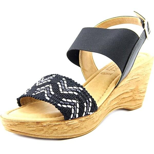 Easy Street Sanremo Women W Open Toe Synthetic  Wedge Sandal
