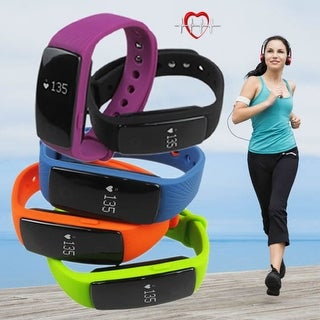 SmartFit Big Screen Fitness Tracker with Pulse Monitor with 1 FREE Band