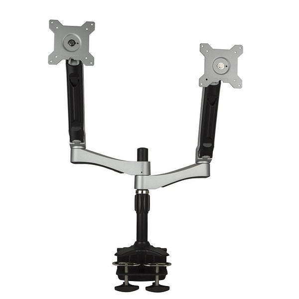 """Planar Systems 997-7031-00 Dual Arm Desk Stand, Taa Compliant, Supports Lcd Monitor 15"""" To 24"""" And Under 26.5 Lb. Per Ar"""