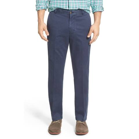 Southern Tide Mens Pants Blue Size 35X32 Chinos Mid-Rise Button-Front