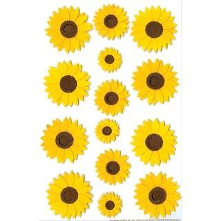 Martha Stewart Stickers-Sunflowers