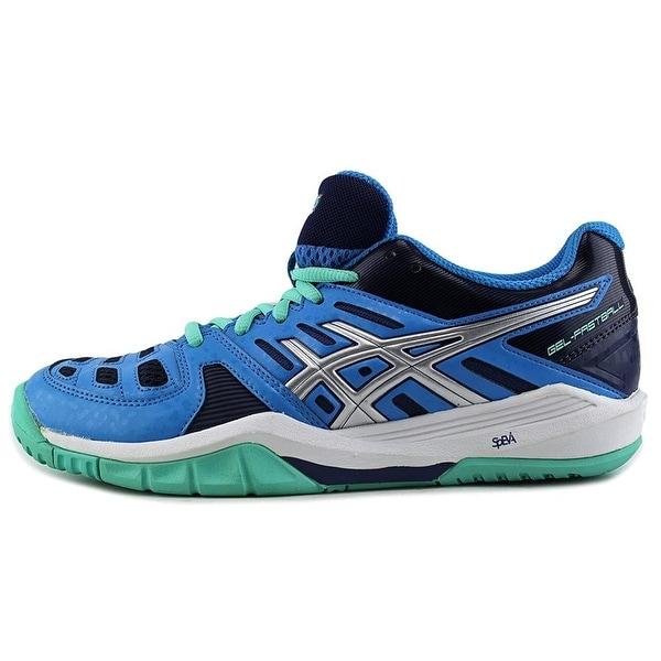 ASICS Womens Gel-Fastball Leather Low Top Zipper Running Sneaker