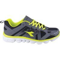 Diadora Men's Coverciano Trainer Shoe Black/Matchwinner Yellow