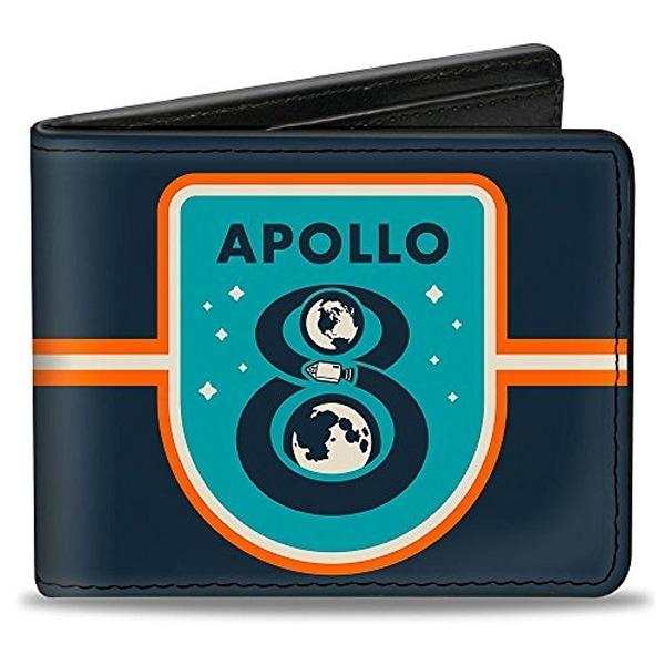 Buckle-Down Bifold Wallet Apollo 8