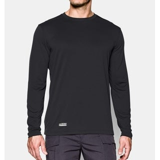 Under Armour Mens Tactical Tech Long sleeve T-Shirt - Black - Small