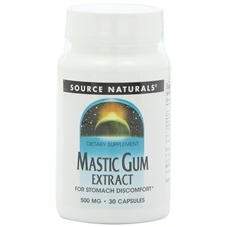 SOURCE NATURALS - Mastic Gum Extract 500 mg 30 Capsule 30 CAPSULE