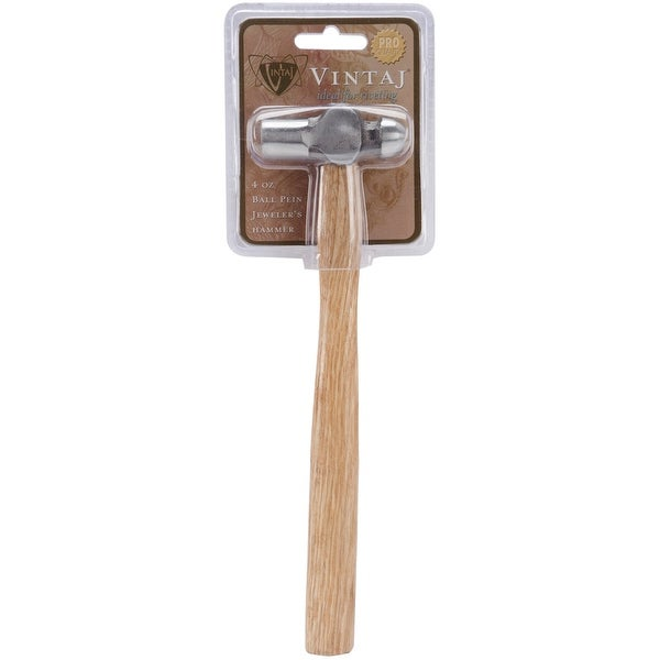 Ball Pein Jeweler's Hammer 4oz-8.75""