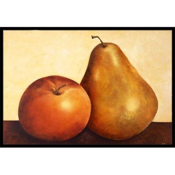 Carolines Treasures BABE0089JMAT Apple & Pear Indoor or Outdoor Mat 24 x 36
