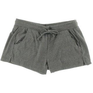 Alternative Apparel Womens Casual Shorts Knit Heathered