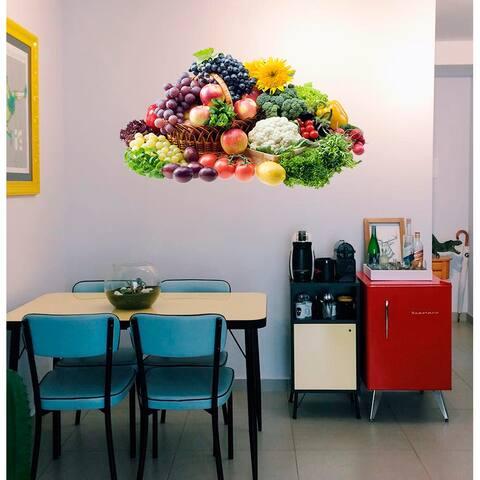 Vegetables Kitchen Decor, Vegetables Kitchen Decal, Vegetables Kitchen Sticker