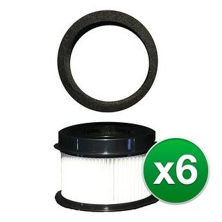 Replacement Vacuum Filter For Bissell 46ES Vacuum Model 6 Pack-HEPA