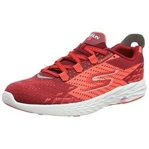 Skechers Men's GOrun 5 Running Shoe,Red/Orange,US 13 M - Red/Orange