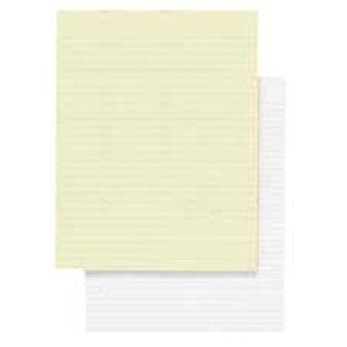 Memorandum Pads- Narrow Rule- 16 lb.- 8-.50in.x11in.- White
