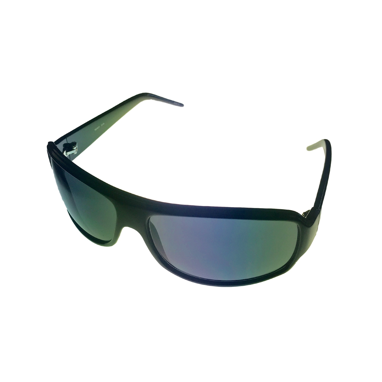 Timberland Sunglass Mens Black, Solid Smoke Lens Plastic Wrap TB7077 1A - Thumbnail 0