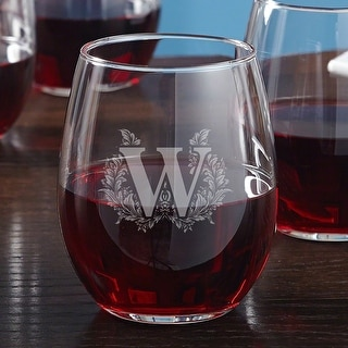 Link to Highbury Stemless Personalized Wine Glass Similar Items in Glasses & Barware