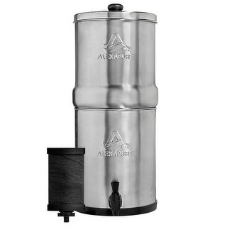 Alexapure Pro Stainless Steel Water Filter System Refurbished - Silver