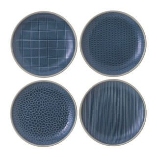 "Link to Maze Grill Blue Plate 6"" Set/4 Mixed Similar Items in Dinnerware"