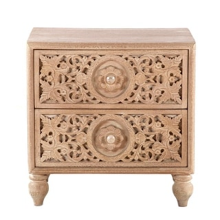 Link to Haveli Mango Wood Night Chest Similar Items in Living Room Furniture
