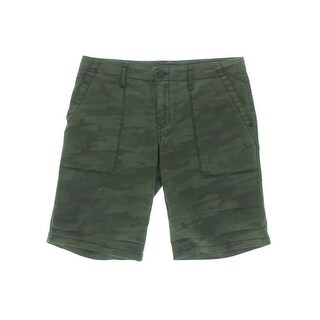 Sanctuary Womens Camouflage Mid-Rise Bermuda Shorts - 29