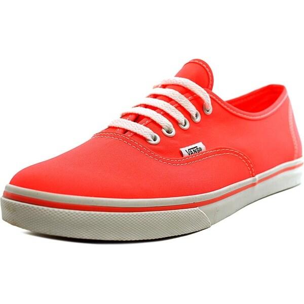 7227564dbe Shop Vans Authentic Lo Pro Men (Neon) Coral Sneakers Shoes - Free ...