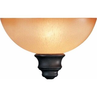 "Volume Lighting GS-410 3.5"" Height Sandstone Glass Bowl Shade"