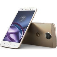 Motorola Moto Z XT1650 64GB Unlocked GSM 4G LTE Android Phone w/ 13MP Camera - White/Gold
