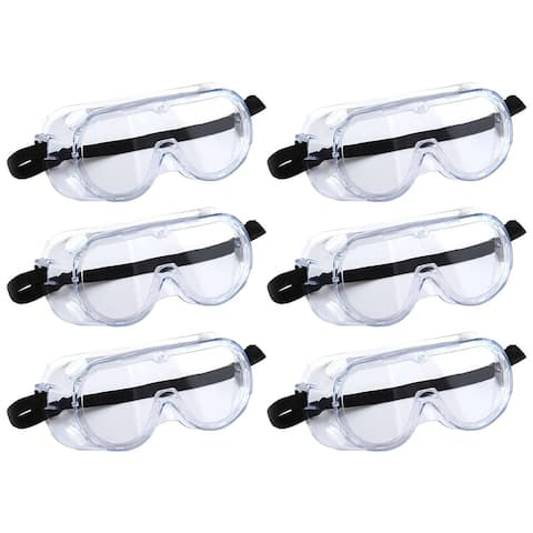 Goggles High Impact Resistance Eye Glasses Protection Safety Goggles