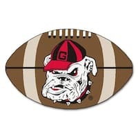 University of Georgia Bulldogs Football Area Rug