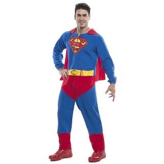 Superman Onesie Costume Adult Standard