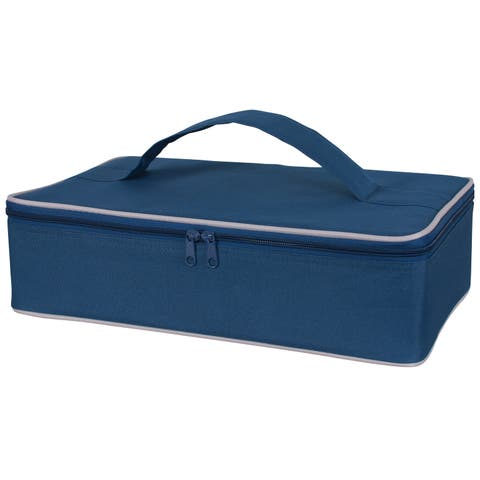 Harold Import 02985NV Insulated Casserole Carrier, Navy