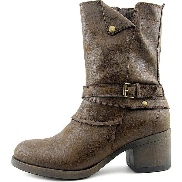 MIA Womens santiago Closed Toe Ankle Fashion Boots