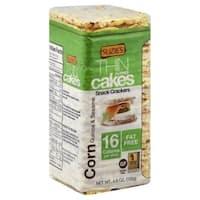Suzie's Whole Grain Thin Cakes - Corn, Quinoa and Sesame - Case of 12 - 4.6 oz.