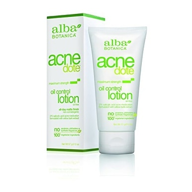 Alba Botanica Acnedote, Oil Control Lotion, 2 Ounce
