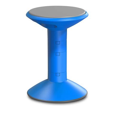 Storex wiggle stool blue 00301u01c